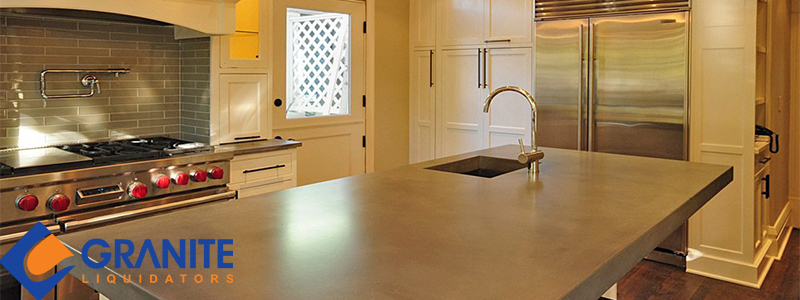 Concrete vs Granite Countertops Feature