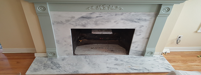 Customer Feature: Supreme White Fireplace