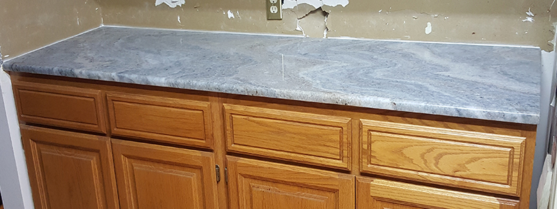Customer Project Terra Bianca Quartzite Countertops