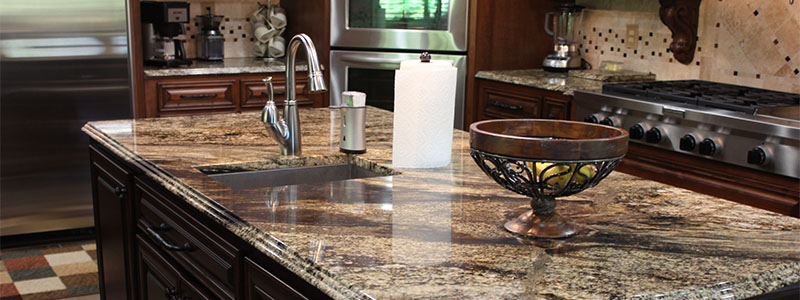 terra bianca quartzite countertop kitchen
