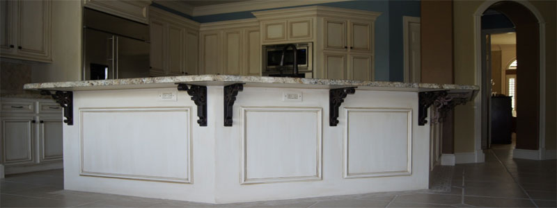 Granite thickness how thick should granite countertops be for Granite overhang without support