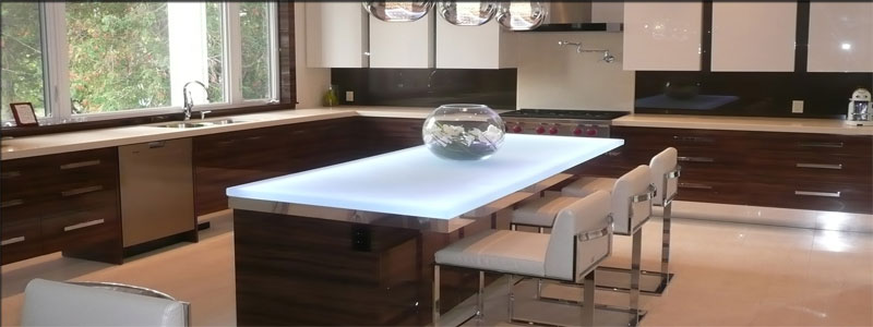 Underlit Countertops: How Do You Install Them?