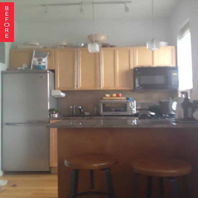 kitchen transformation