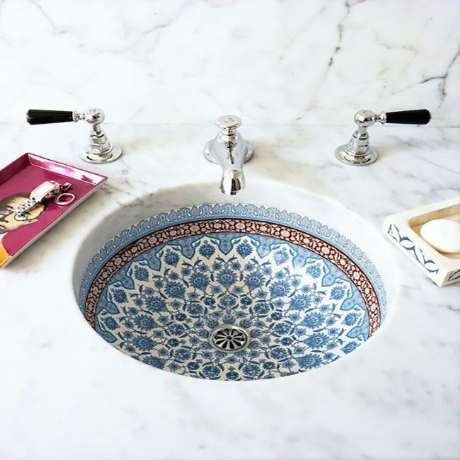 The Bohemian Bathroom: How To Easily Achieve It