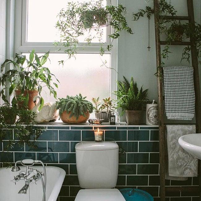 bohemian bathroom