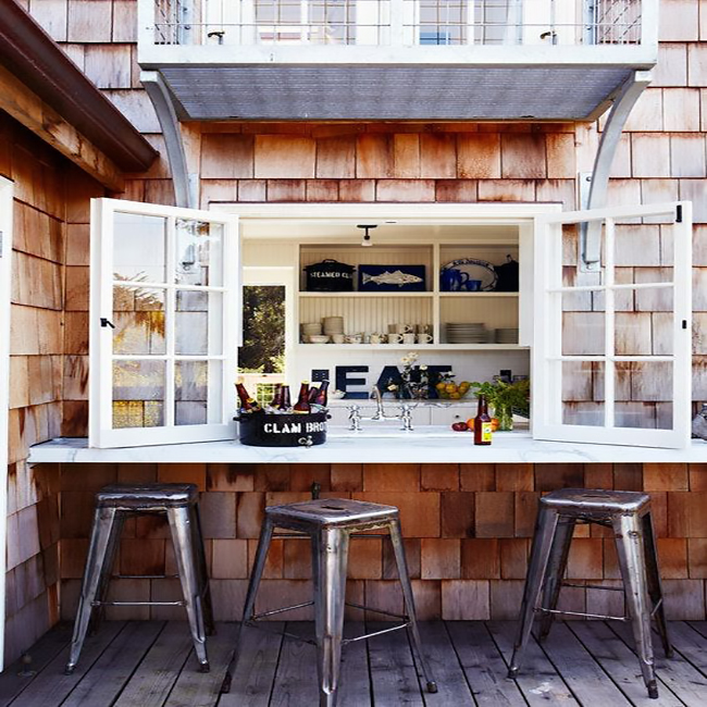 A Kitchen Window Bar Will Change Home Entertaining Forever