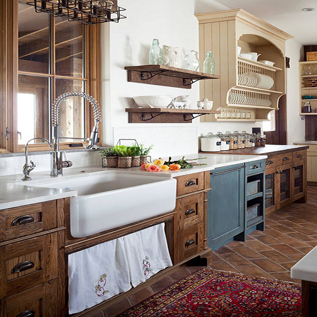 Farmhouse kitchen bath characteristics for your next renovation for Farmhouse kitchen design pictures