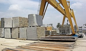 Large Granite Stones for Processing