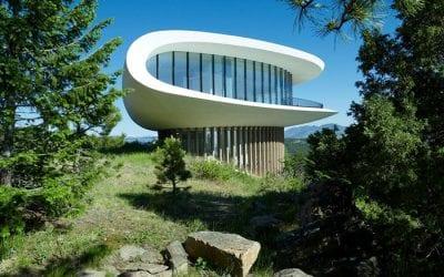 Denver's Flying Saucer House   Granite Countertops in Denver