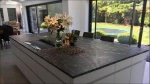 leathered granite