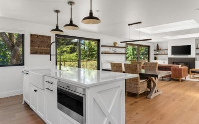 Open Concept Kitchens With Granite Countertops