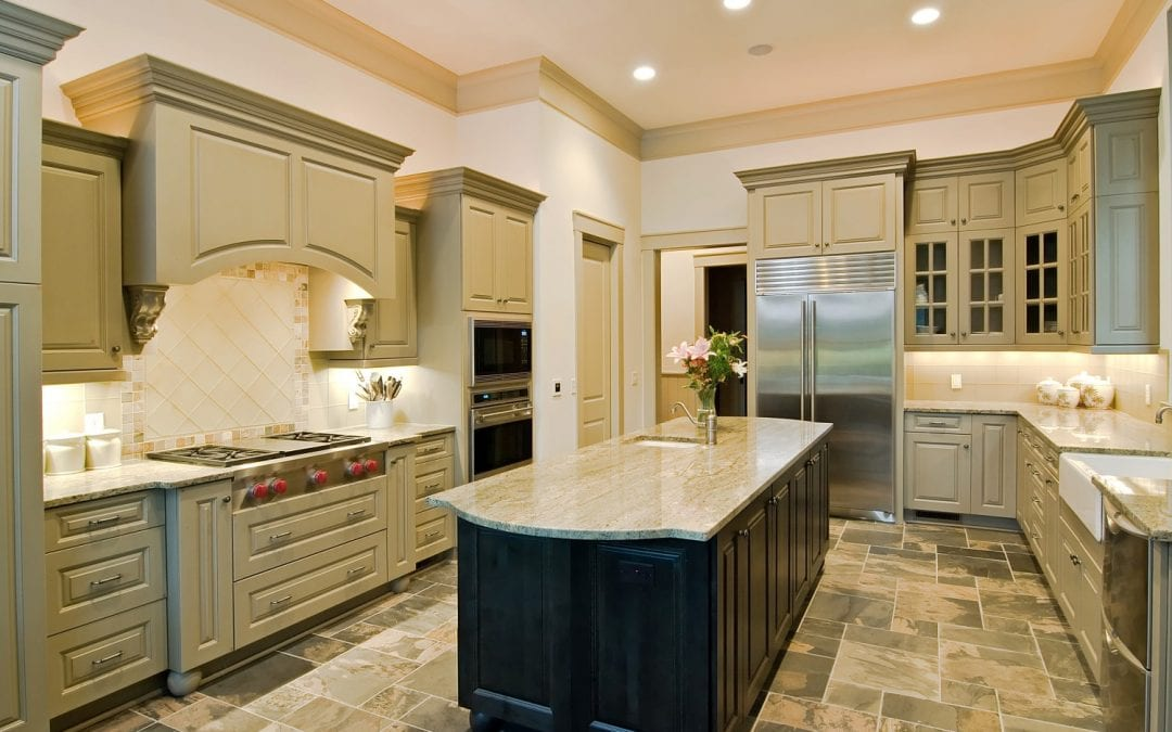 Tuscan Décor With Granite Countertops