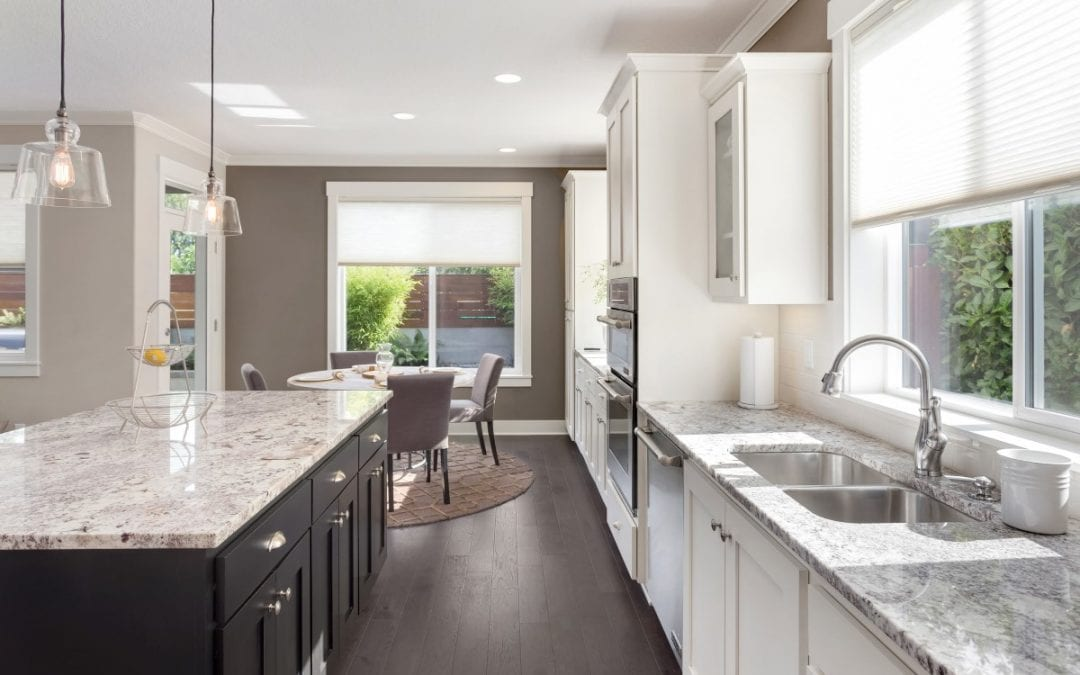Freshen Up Your Kitchen With  White Granite Countertops
