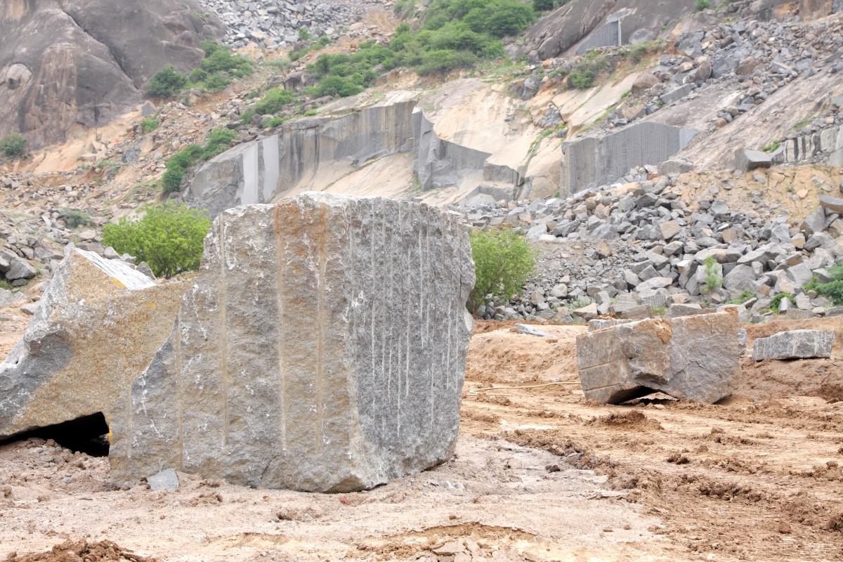 Temple Granite Quarry Historical Monument Granite