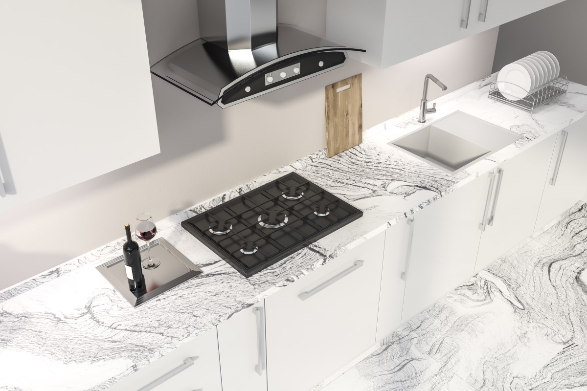 How To Mixing And Matching White Granite Countertops Gl Blog