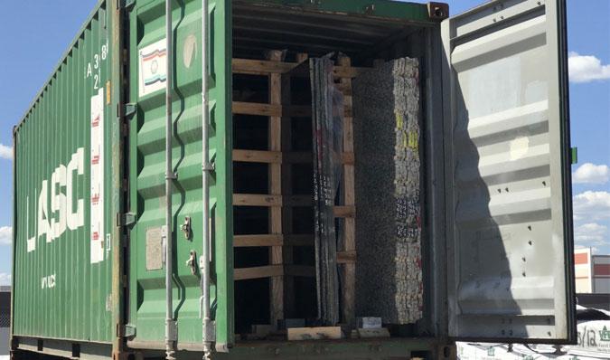 Granite container