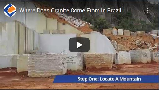 Where Does Granite Come From In Brazil