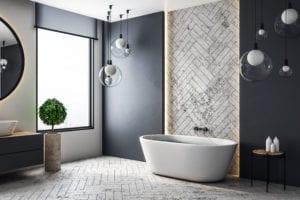 granite tiles in interior design