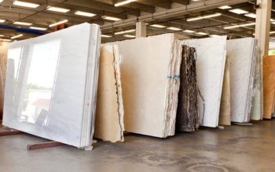 Between granite, marble, and quartzite, which stone is best suited for commercial applications?
