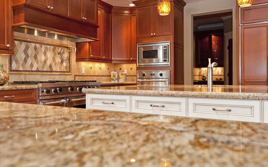 When should you choose granite countertops over marble countertops?